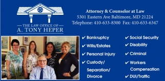 The Law Office of A. Tony Heper