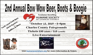 2nd Annual Bow Bow Beer, Boots & Boogie