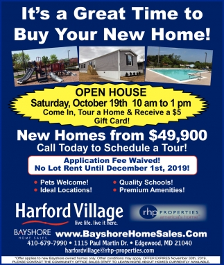 It's a Great Time to Buy Your New Home