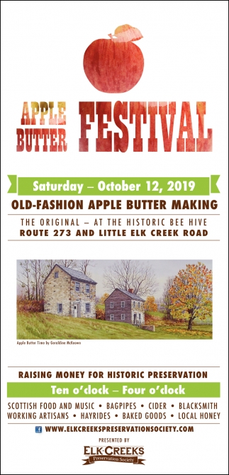Old Fashioned Apple Butter Making