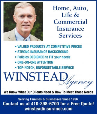 Home, Auto, Life & Commercial Insurance Services
