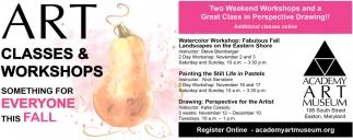 Art Classes & Workshops