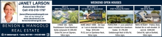 Weekend Open Houses
