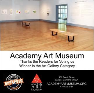 Winner in the Art Gallery Category