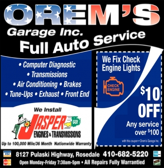 Full Auto Service