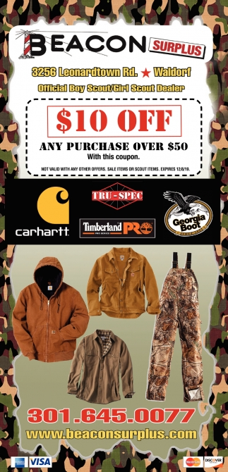 $10 OFF Any Purchase Over 50$