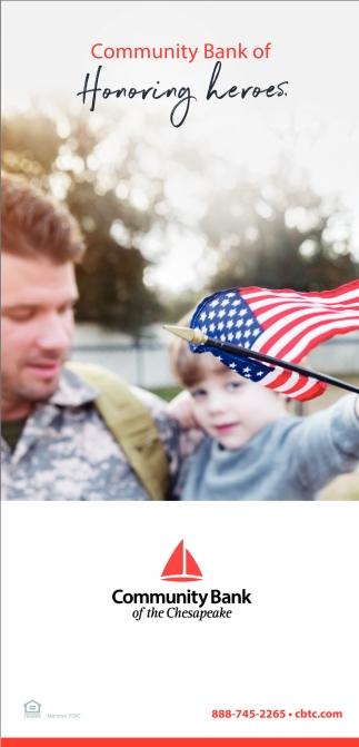 Community Bank of Honoring Heroes