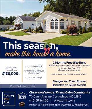This Season Make this House a Home
