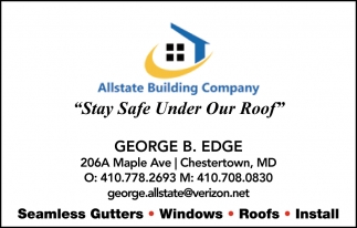 Stay Safe Under our Roof