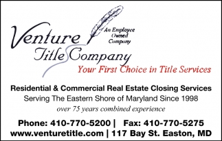 Your First Choice In Title Services