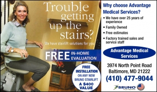 Trouble Getting Up the Stairs?