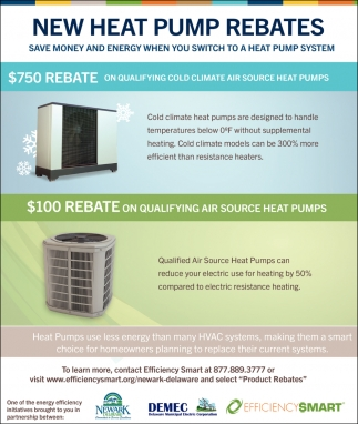New Heat Pump Rebates
