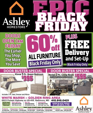 Epic Black Friday!, Ashley Homestore