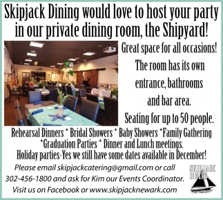 Great Space for All Occasions!