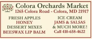 Fresh Apples, Honey, Dessert Mixes, Beeswax Lip Balm, Ice Cream, Jams & Salsas & Much More