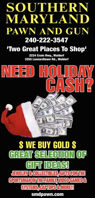 Need Holiday Cash?