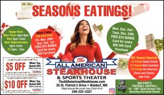 Seasons Eatings!