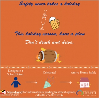 Safety Never Takes a Holiday