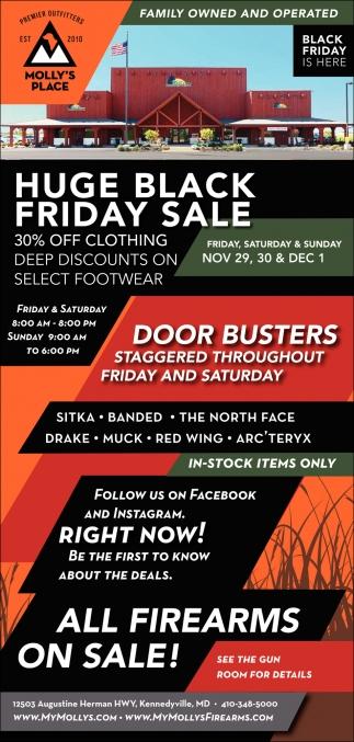 Huge Black Friday Sale