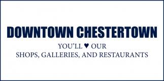 Shops, Galleries  and Restaurants