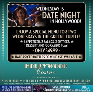 Wednesday is Date Night in Hollywood!