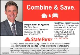 Combine & Save