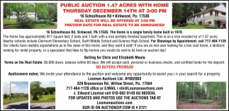 Public Auction