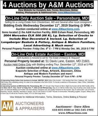 14 Auctions by A&M Auctions
