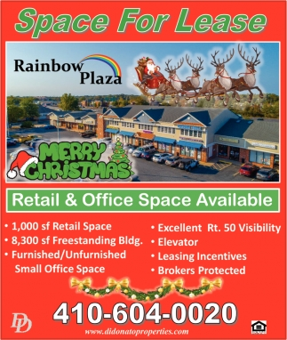 Retail & Office Space Available