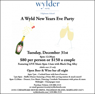 A Wyld New Years Eve Party