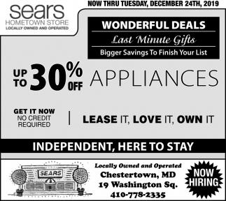 Wonderful Deals