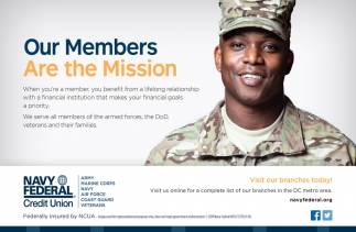 Our Members Are the Mission