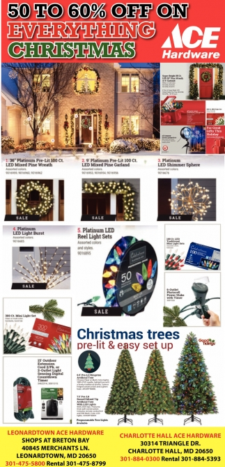50 to 60% OFF On Everything Christmas