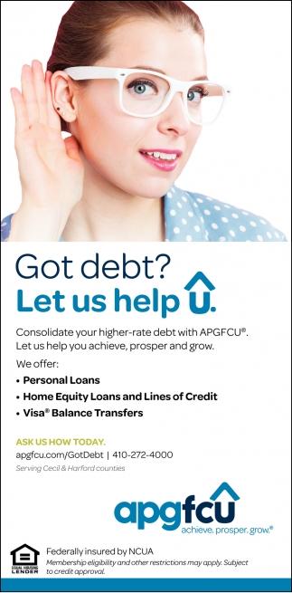 Got Debt?