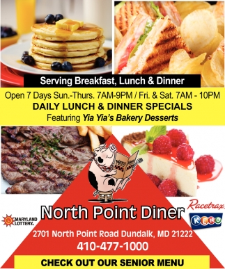 Daily Lunch & Dinner Specials