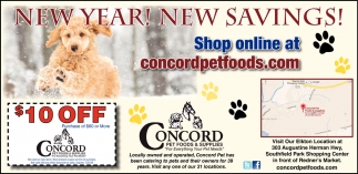 New Year! New Savings!