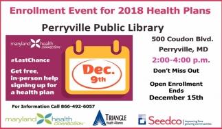 Enrollment Event for 2018