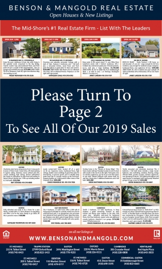 Open Houses & New Listings