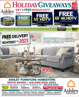 Giveaways Ashley Home