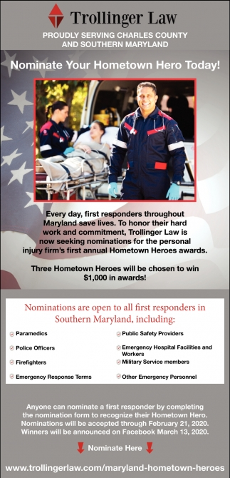 Nominate Your Hometown Hero Today