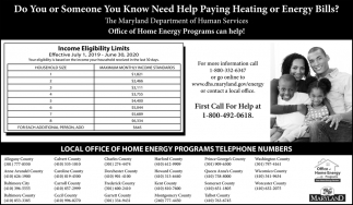 Office of Home Energy