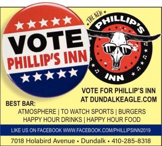 Vote Phillip's Inn