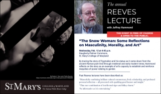 Reeves Lecture
