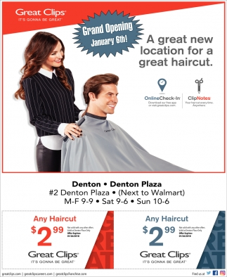 Grand Opening Great Clips