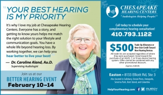 Better Hearing Event
