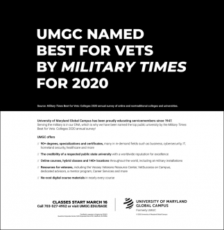 Best for Vets By Military Times for 2020