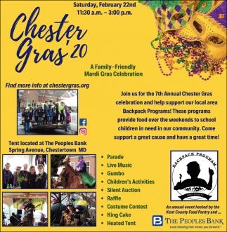 Chester Gras' 20