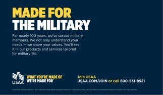 Made For The Military Usaa Auto Insurance San Antonio Tx