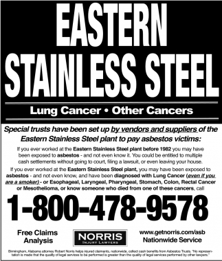 Eastern Stainless Steel