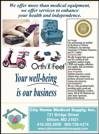 Your Well-Being is Our Business